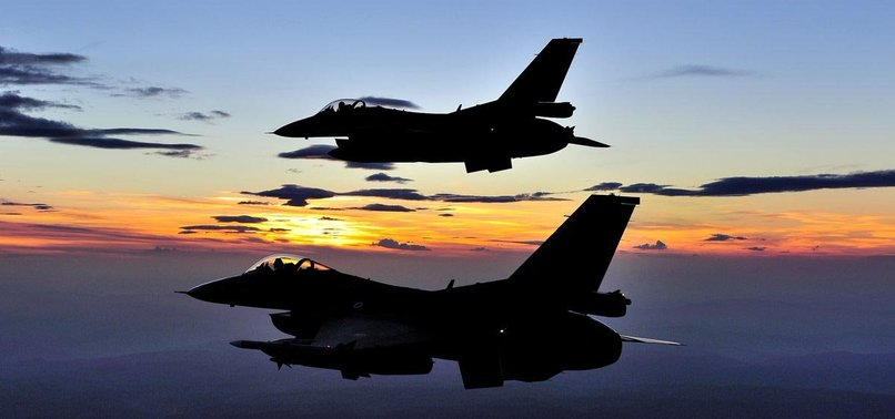 TURKISH JETS NEUTRALIZE 5 TERRORISTS IN N. IRAQ