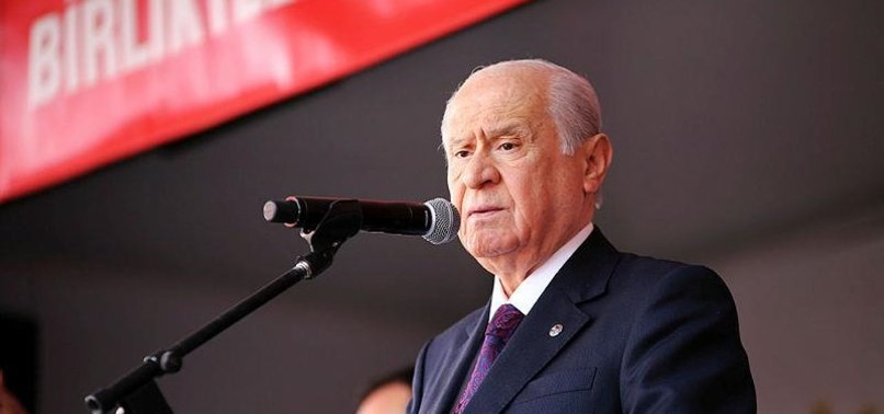 OPPOSITION MHP HEAD BAHÇELI RULES OUT EARLY ELECTIONS