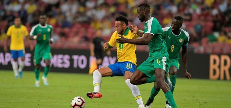 BRAZIL DRAWS 1-1 WITH SENEGAL AS NEYMAR REACHES 100 CAPS