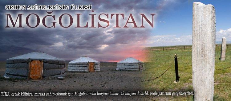 Orhun abidelerinin ülkesi Moğolistan