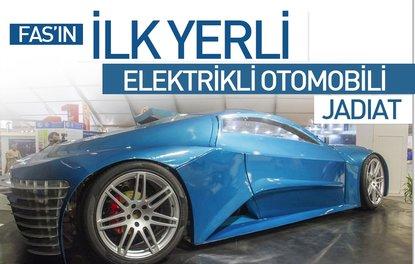 Fasın yerli elektrikli otomobili Jadiat