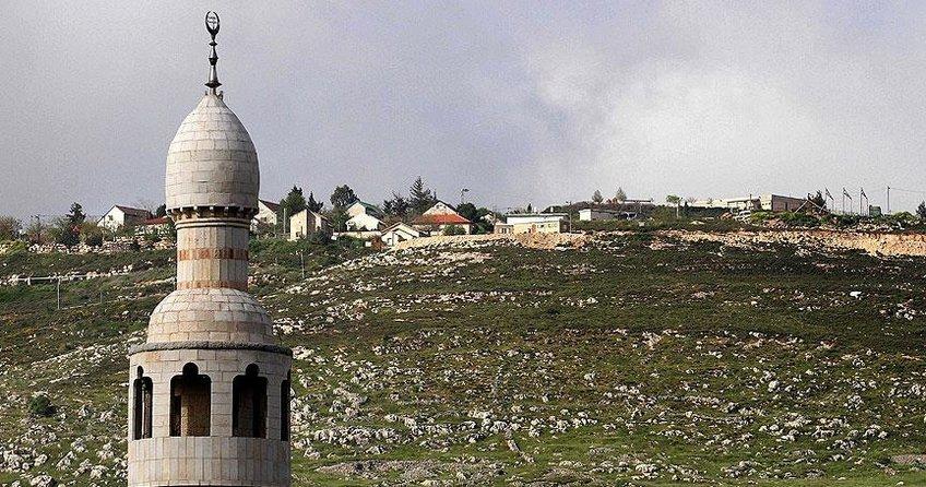 İsrailden Filistin köyüne ezan yasağı