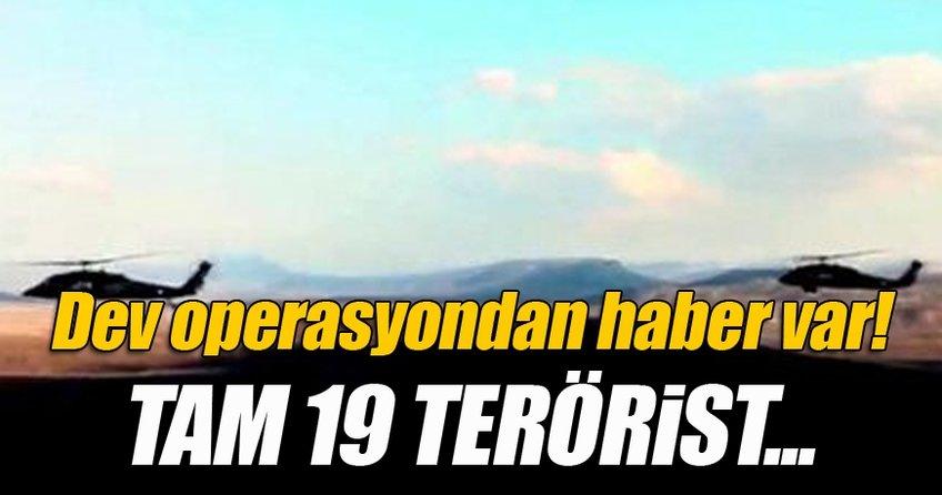 Diyarbakır'da 19 terörist etkisiz hale getirildi