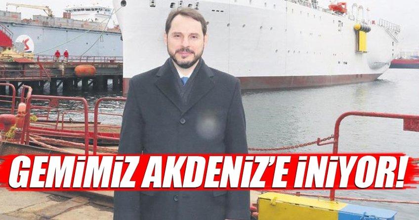 Gemimiz Akdeniz'e iniyor
