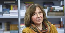 Nobel prize-winning author Alexievich flees Belarus