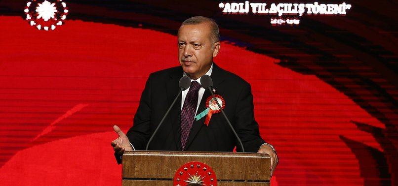 TURKEY BUILDS ITS DEMOCRACY ON SEPARATION OF POWERS: PRESIDENT ERDOĞAN