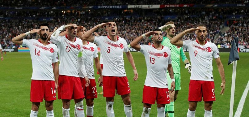 UEFA OPENS INQUIRY AGAINST TURKEY OVER SOLDIER SALUTE PERFORMED BY ITS NATIONAL PLAYERS