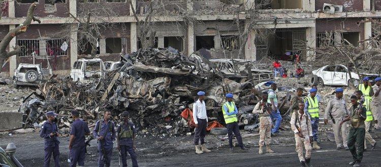 Somali'de ölü sayısı 189'a yükseldi