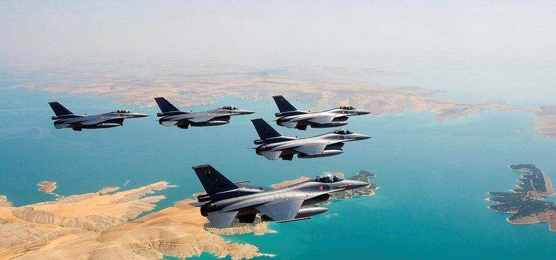TURKISH JETS NEUTRALIZE 6 TERRORISTS IN N.IRAQ