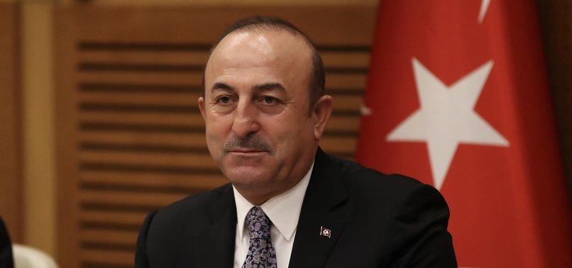 TURKEYS FM ÇAVUŞOĞLU CRITICIZES U.S. DECISION ON OIL SANCTIONS AGAINST IRAN