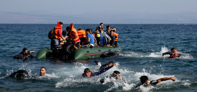 TURKEY RESCUES 147 MORE IRREGULAR MIGRANTS PUSHED BACK BY GREECE