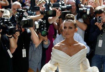 Celine Dionun couture dolabı!