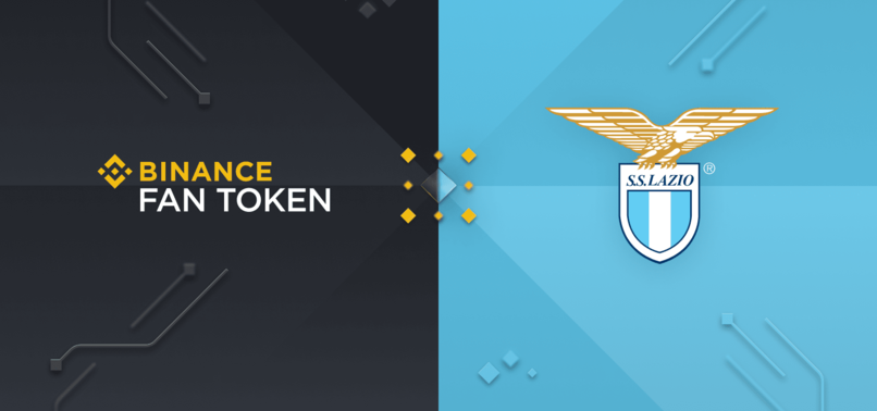 LAZIO SIGNS JERSEY SPONSOR DEAL WITH CRYPTO EXCHANGE BINANCE