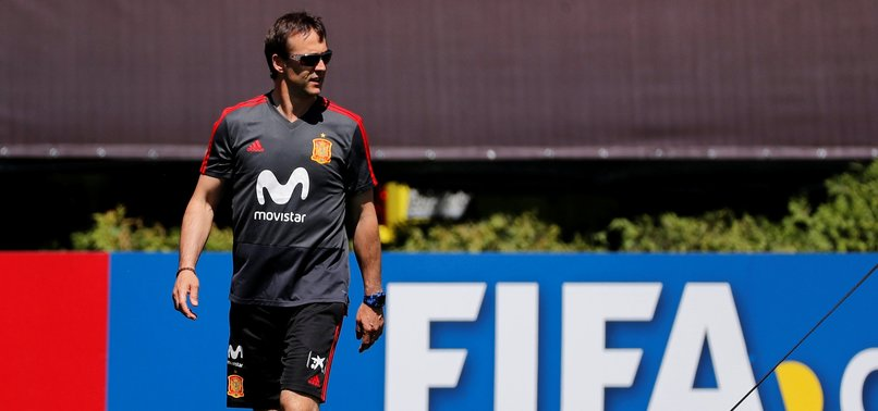 SPAIN COACH LOPETEGUI TO JOIN REAL MADRID AFTER WORLD CUP