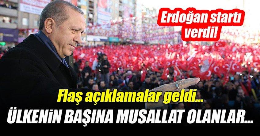 Cumhurbaşkanı Erdoğan Kahramanmaraş'ta toplu açılış törenine katıldı