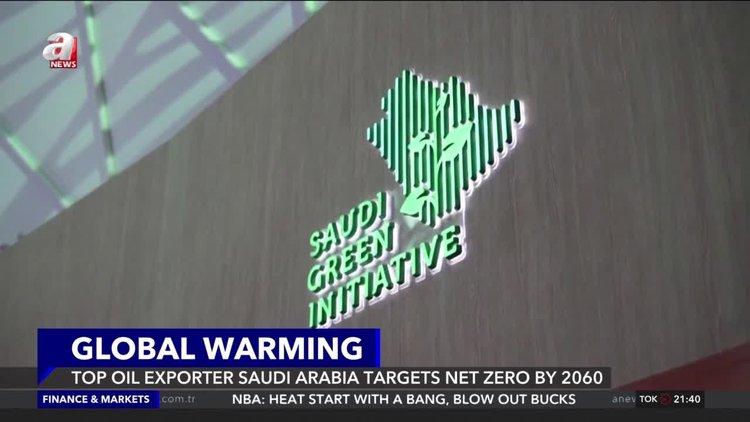 Top oil exporter Saudi Arabia targets net zero by 2060