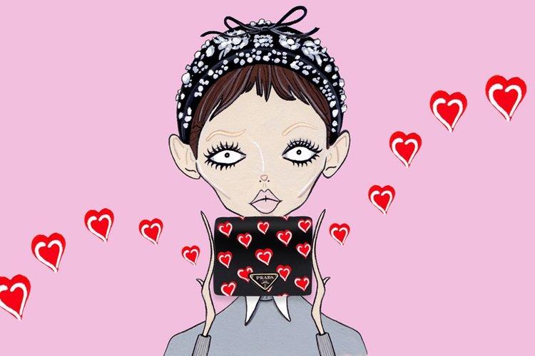 Prada'dan Sevgililer Günü'ne özel tasarım