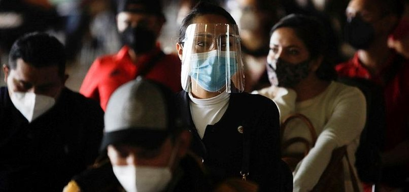 MEXICO REPORTS 13,853 NEW COVID-19 CASES, 341 DEATHS