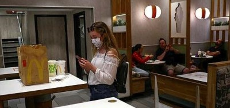 MCDONALDS TO REQUIRE MASKS AT ALL US RESTAURANT LOCATIONS