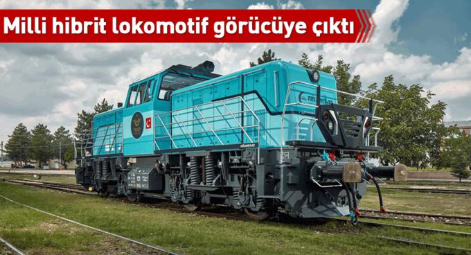 Milli hibrit lokomotif Almanyada görücüye çıktı