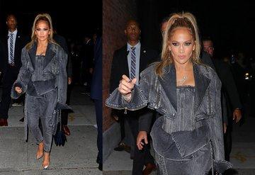 Jennifer Lopezin 4.600 dolarlık kırmızı halı şıklığı