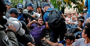 Israeli police, settlers clash over West Bank outpost