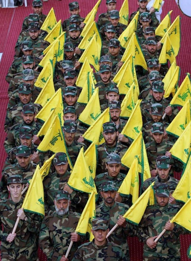Iran supports the Lebanon-based armed Shiite group Hezbollah against Saudi-backed opposition groups in Syria.