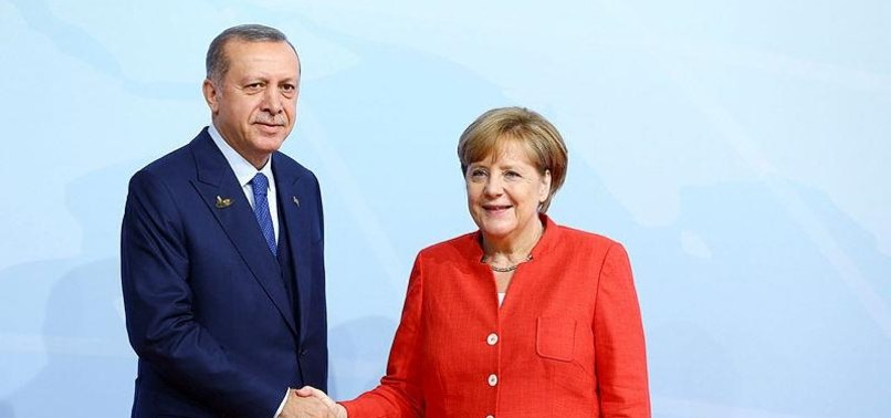 ERDOĞAN TO MEET MERKEL DURING HIS GERMANY VISIT IN SEPTEMBER