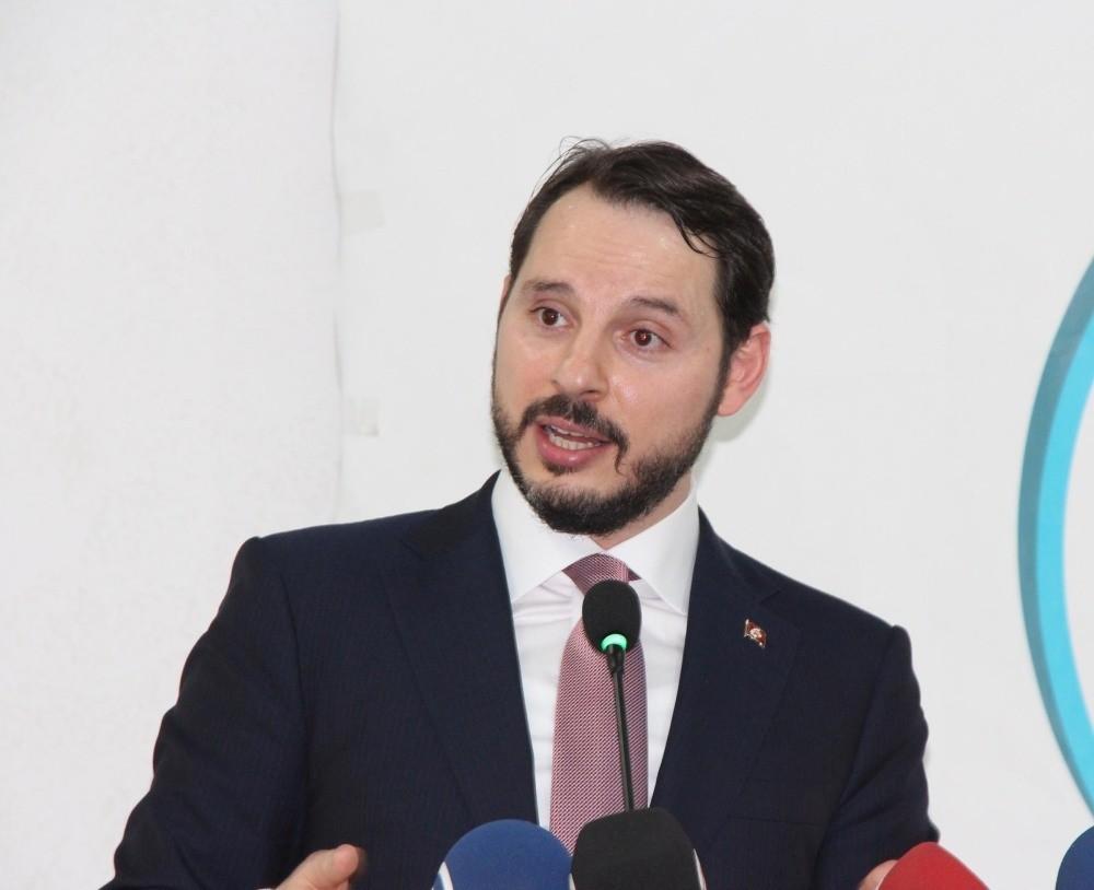 Energy and Natural Resources Minister Berat Albayrak