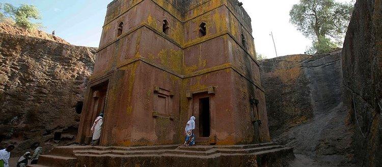 Etiyopyalıların 'ikinci Kudüs'ü Lalibela