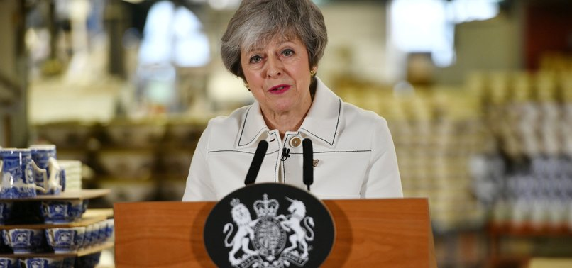 MAY COULD FACE CALL FOR GOVERNMENT OF NATIONAL UNITY IN UK