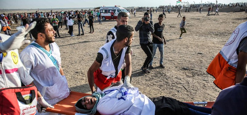ISRAEL KILLS ONE, INJURES DOZENS DURING GAZA PROTESTS