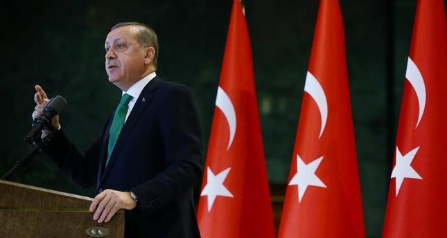 أردوغان: منظمة غولن تتعاون مع بي كا كا من خلال سلطتها في الأمن والجيش