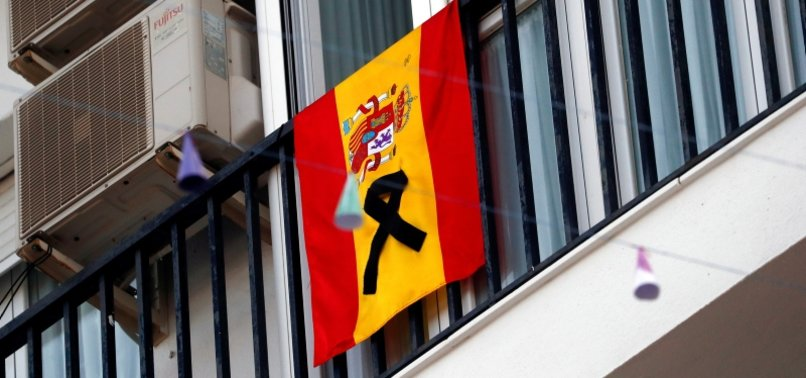 SPAIN DAILY VIRUS DEATHS 757, SECOND SUCCESSIVE RISE