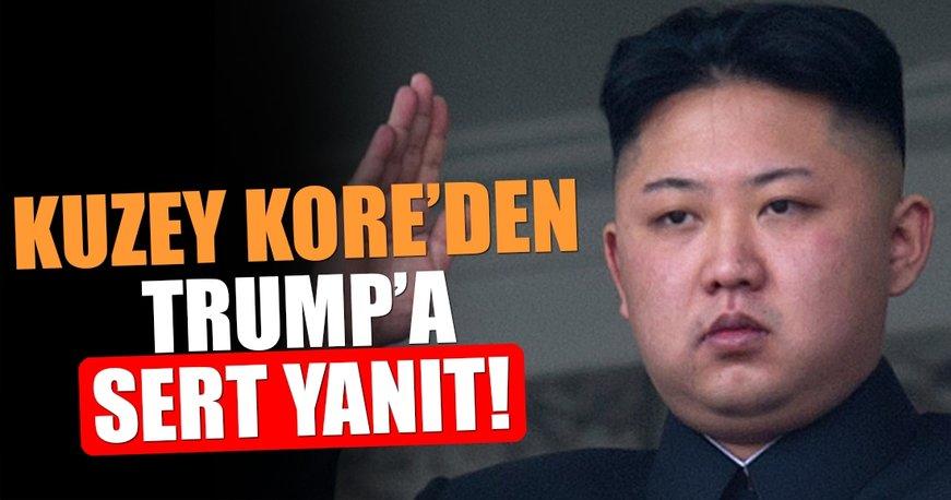 Kore'den Trump'a sert yanıt!