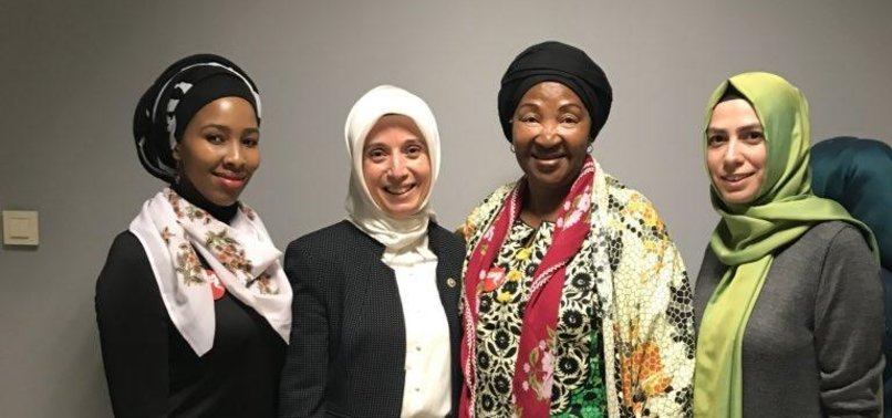 MANDELA WOMEN VOW TO CONTINUE SUPPORT FOR SYRIAN WOMEN