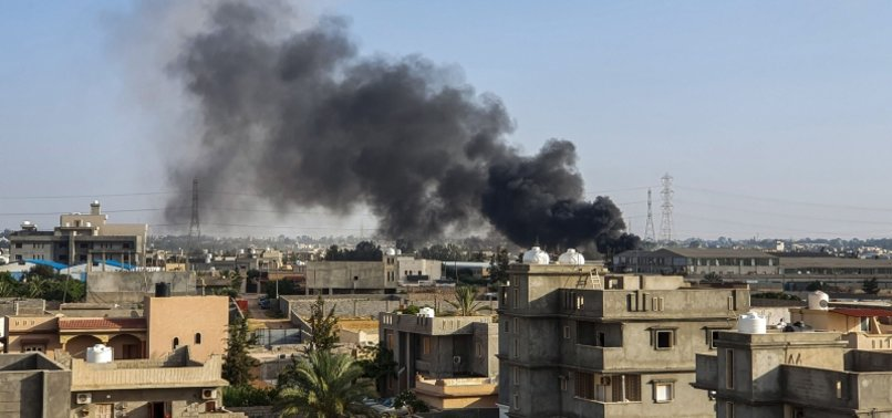 LIBYAN GOVERNMENT CONDUCTS AIRSTRIKES ON HAFTAR FORCES