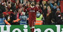 Brace against Roma lifts Salah to top of European goal chart