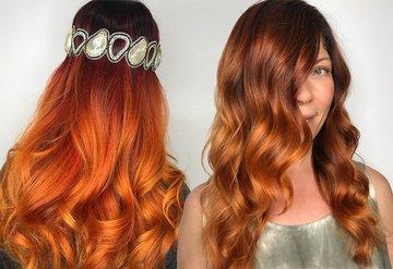 İşte her ten rengine uygun muhteşem kızıl saçlar!