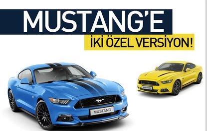 Mustang'e iki özel versiyon!