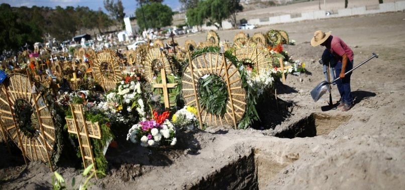 MEXICO REPORTS 5,441 NEW CORONAVIRUS CASES, 719 MORE DEATHS