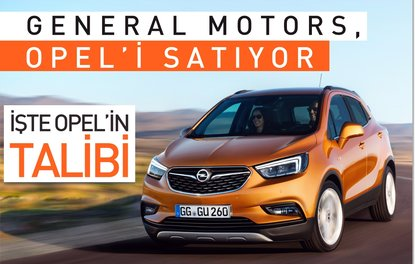 GM, Opeli satıyor