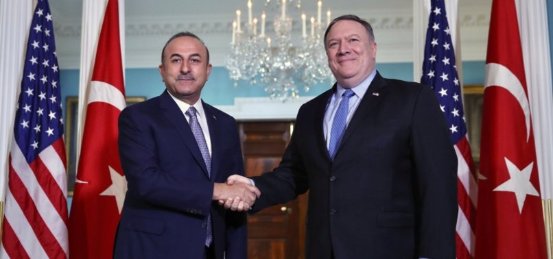 FM ÇAVUŞOĞLU HOLDS A PHONE CALL WITH HIS US COUNTERPART MIKE POMPEO OVER SYRIA