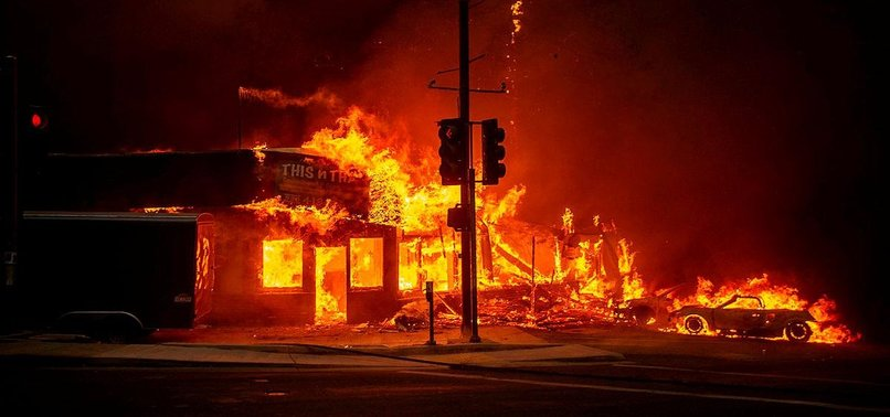 HEROISM, HARROWING ESCAPES AS FIRE DESTROYS CALIFORNIA TOWN