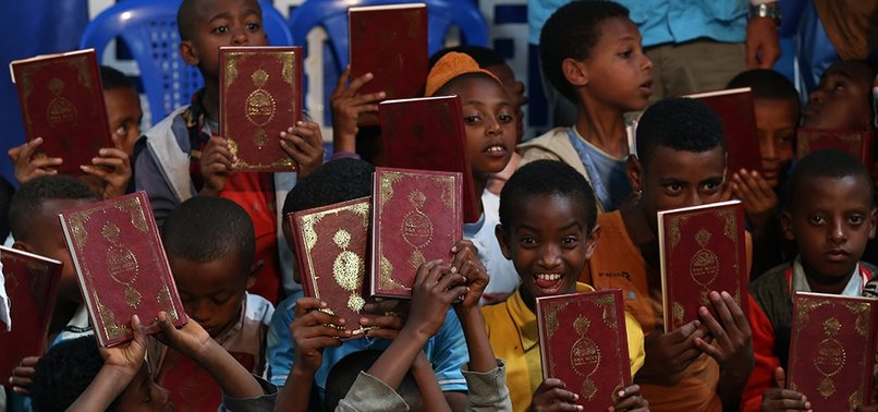 TURKISH GROUP GIVES QURANS TO 1,200 ETHIOPIAN CHILDREN
