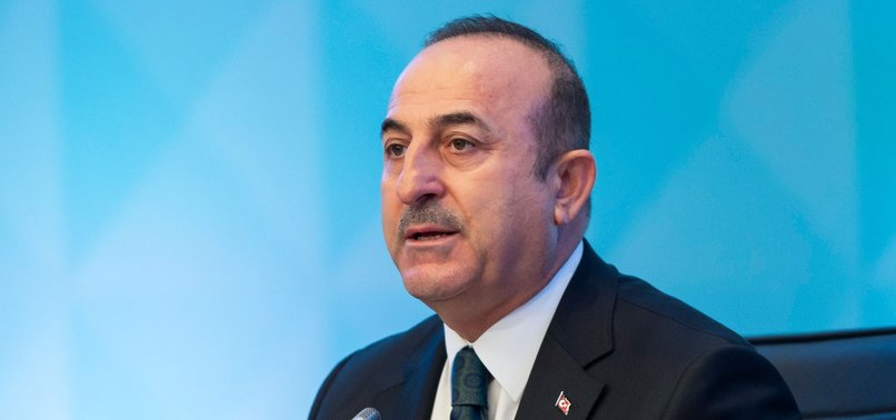 FM ÇAVUŞOĞLU SLAMS ARAB STATES FOR KEEPING SILENT OVER GOLAN HEIGHTS