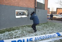 A man has been arrested on suspicion of terrorism crimes following an October arson attack on a mosque in the southern Swedish town of Malmo, local media reported on Monday.