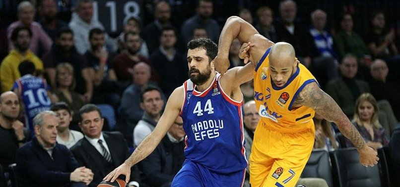 ANADOLU EFES BEATS KHIMKI MOSCOW IN EUROLEAGUE MATCH