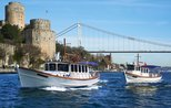 Arabs enjoy night cruise tours on Istanbul's Bosphorus