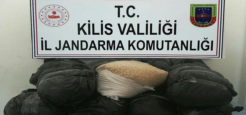 HUGE SEIZURE OF TERRORIST PYD/PKK OPIATES IN TURKEYS KILIS